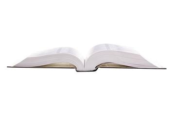Book education black on white background isolation