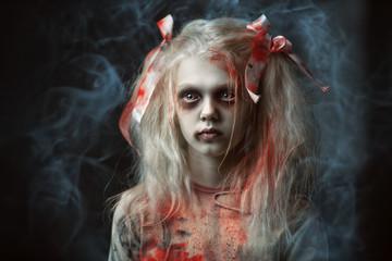 pretty zombie girl