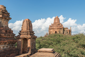 Taung Guni Pagoda, one of the most interesting temple of the Bagan area