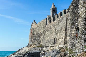 Walls of Portovenere, Italy