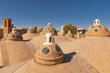 Rooftop in Kashan Iran