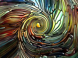 Realms of Iridescent Glass
