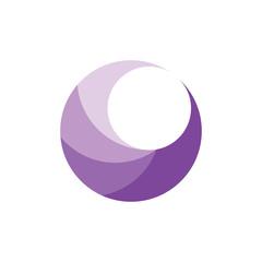3D crescent logo