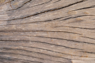 Weathered brown wood texture for background