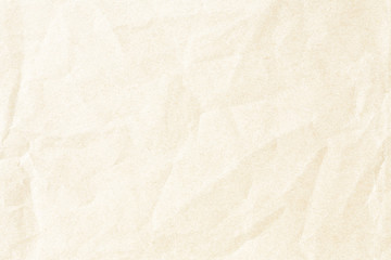 Crumpled old brown background paper texture