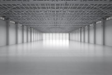 empty factory interior