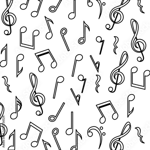 Music Note Background Design Stock Image And Royalty Free Vector