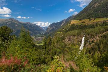 The Krimml Waterfalls, Salzburg, Austria