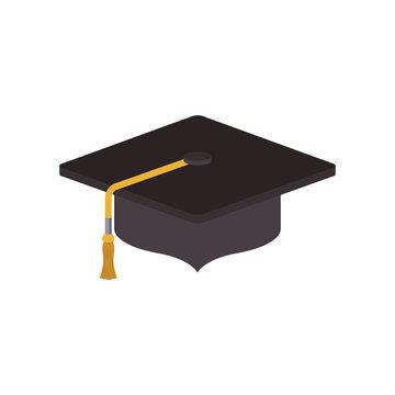Isolated graduation cap design
