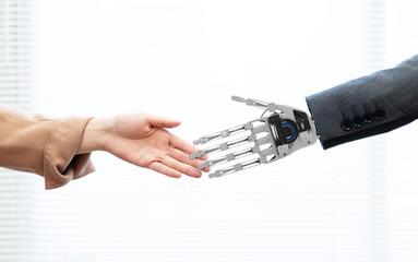 ロボットと人間