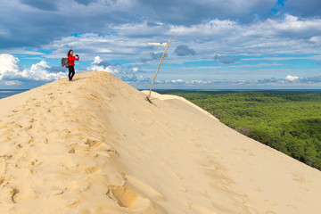 The highest dune of Europe