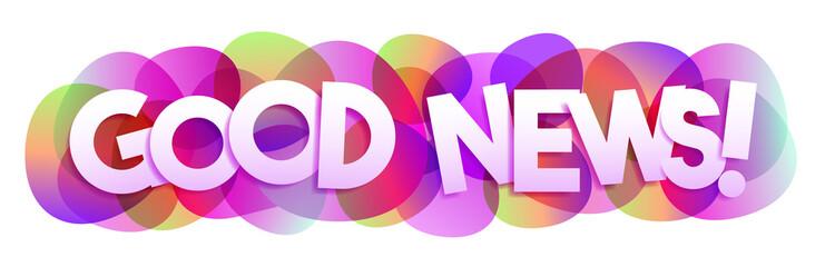 Papier Peint - Good news! vector banner