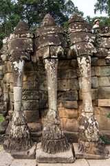 Kambodscha - Baphuon - Terrasse der Elefanten