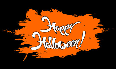 Happy Halloween. Vector Illustration, Halloween Background.