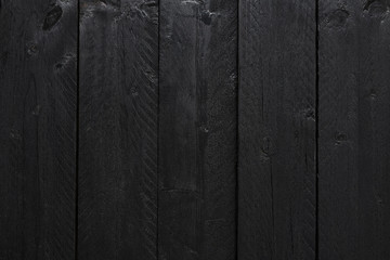 Wood texture or black wood background. Wood for interior exterior decoration and industrial construction concept design. Natural wood texture. Abstract wood background.