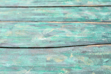 Texture of painted wooden boards. Old wooden slats. Vintage design element.