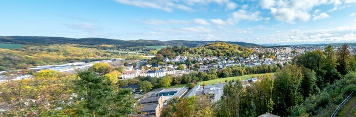 Panorama view Arnsberg Germany Fototapete
