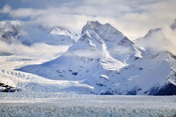 Perito Moreno is the most famous glacier in the world. Argentina.