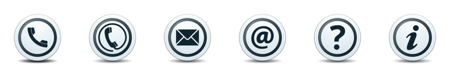 Contact Buttons illustration