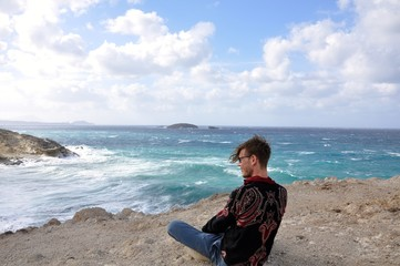 Papafranga Beach Milos Island