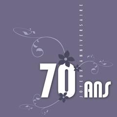 Joyeux anniversaire 70 ans