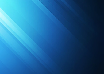 Abstract blue vector background with stripes