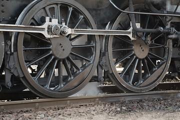 Steam Locomotive Closeup
