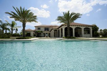 swimming pool in luxury hose
