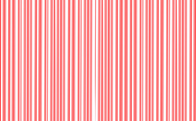 Candy Cane red and white pattern for background.