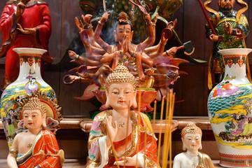 Chau Doc; Socialist Republic of Vietnam - august 19 2018 : Tay An pagoda