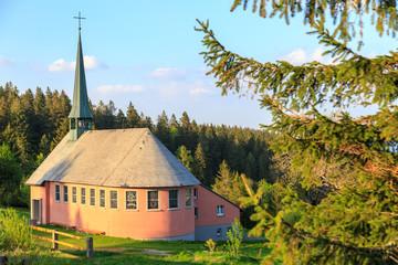 Kandelkapelle St. Pius in der Nähe des Kandelgipfels im Schwarzwald