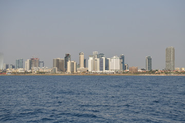 Tel Aviv from the sea