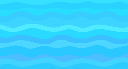 Nautical geometric wallpaper of the surface. Wavy sea background. Bright colors. Pattern with lines and waves. Multicolored texture. Dinamic texture. Doodle for design and business