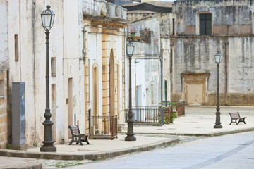 Specchia, Apulia - Visiting the historic old city center of Specchia