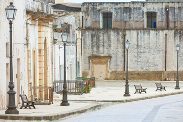Specchia, Apulia - Visiting the historic old town of Specchia