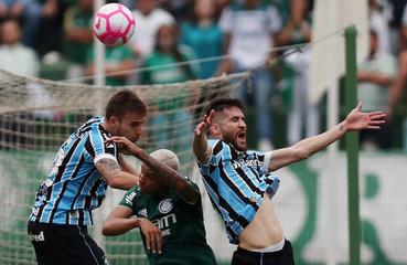 Brasileiro Championship - Palmeiras v Gremio