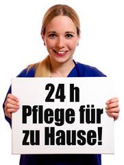 24 h Pflege für zu Hause