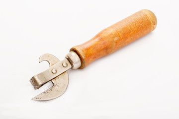 Old , can opener
