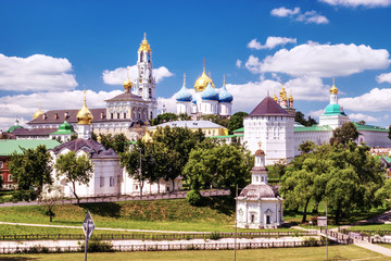 Trinity Lavra of St. Sergius in Sergiev Posad, Moscow Russia