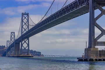 View of San Francisco Bay Bridge