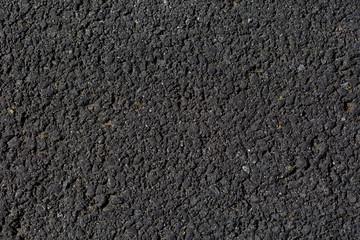 close up of an asphalt road