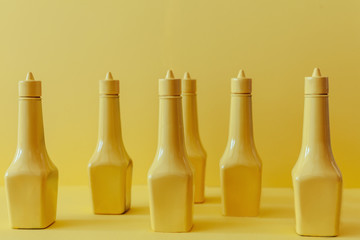 Conceptual food seasoning bottles