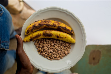Ghanaian Roasted Plantain And Peanut
