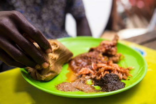 Street food in Accra