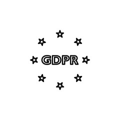Compliance, gdpr icon. Element of general data project icon for mobile concept and web apps. Thin line Compliance, gdpr icon can be used for web and mobile