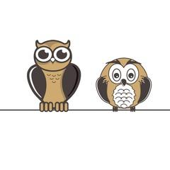 logo vector owl