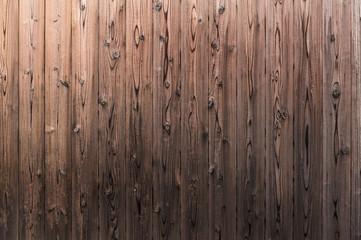 焼き杉の板壁