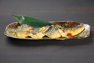鯖の西京味噌漬け焼き