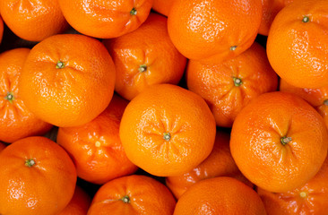 Fresh mandarin oranges fruit or tangerines