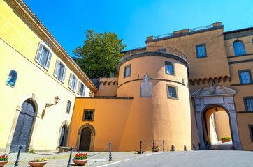 Castelgandolfo, the Papal palace
